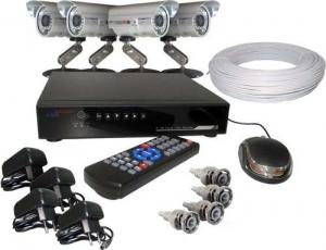 Pacote com HD 500 gb e 4 microcâmeras